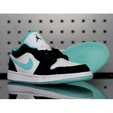 Air Jordan 1 Low Island Green CQ9828-131 White/Black-Island Green Sneakers