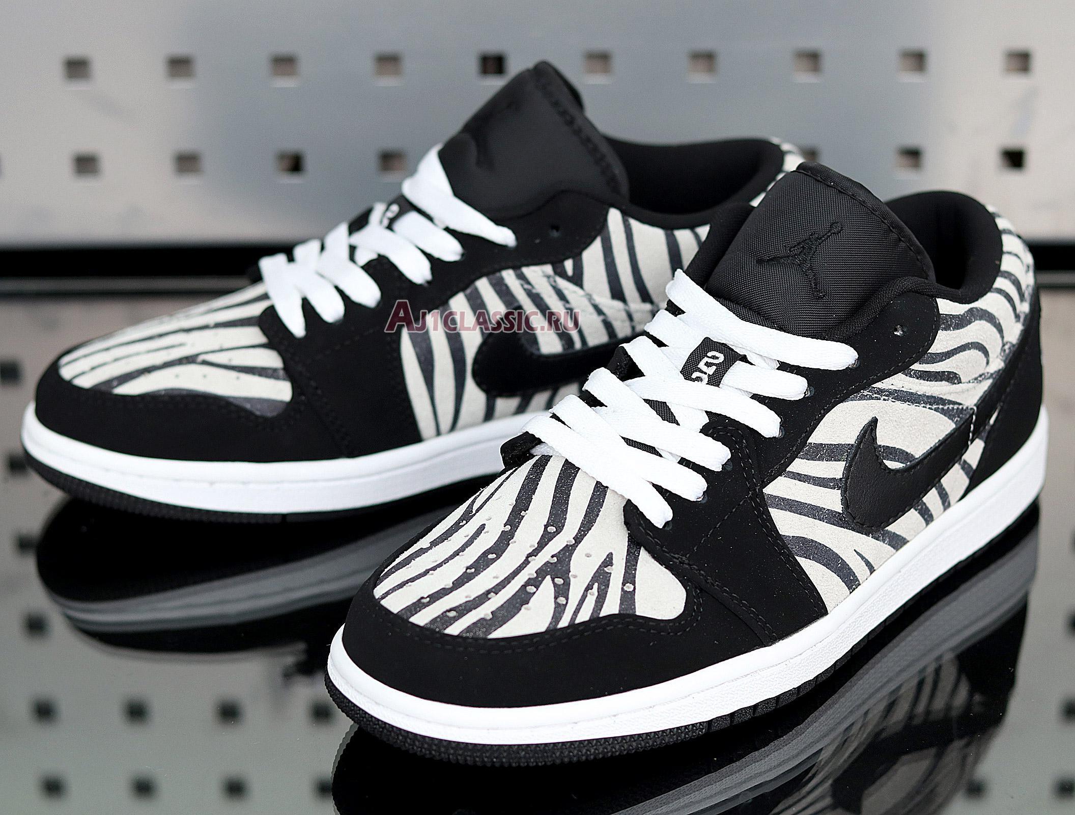 """Air Jordan 1 Low """"Zebra"""" 553560-057"""
