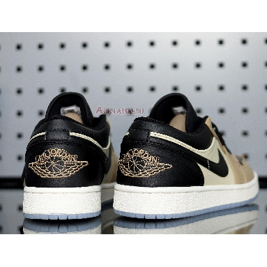 Air Jordan 1 Low Fossil CQ9446-003 Black/Fossil/Pale Ivory/Mushroom Sneakers