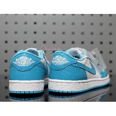 Eric Koston x Air Jordan 1 Low SB Powder Blue CJ7891-401 Dark Powder Blue/Dark Powder Blue/White Sneakers