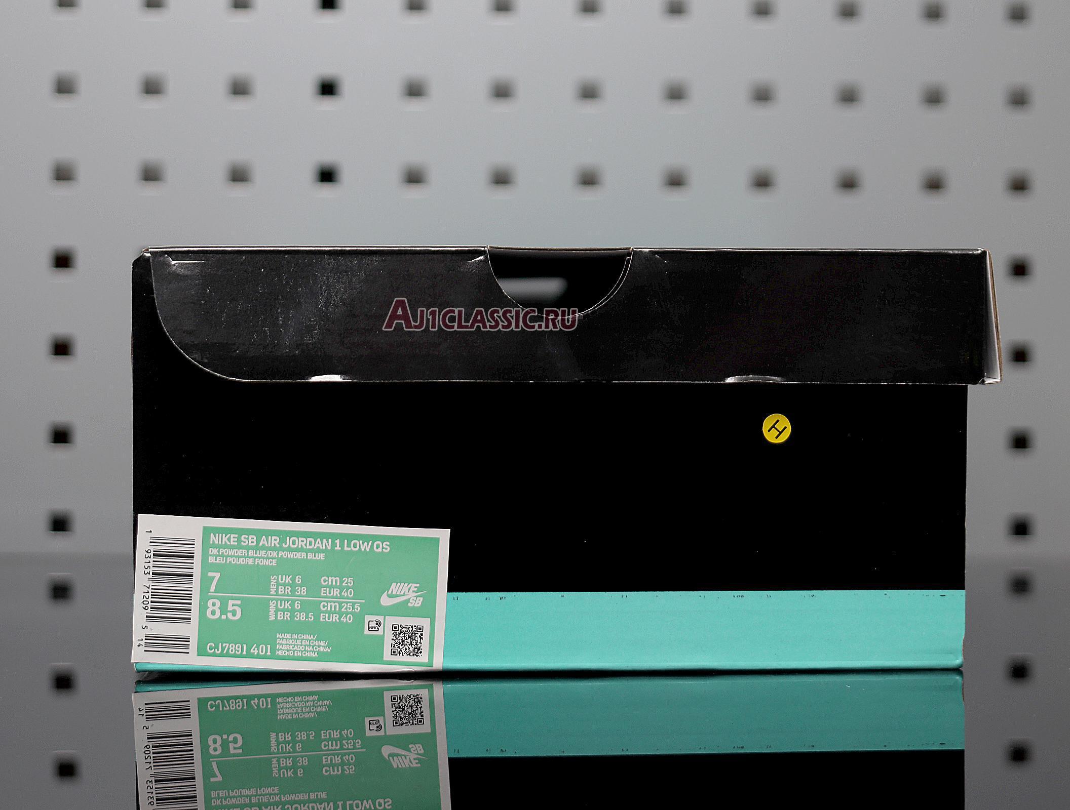 "Eric Koston x Air Jordan 1 Low SB ""Powder Blue"" CJ7891-401"