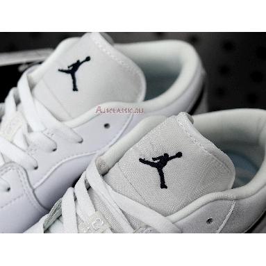Air Jordan 1 Low White Obsidian 553558-114 White/Obsidian/White Sneakers