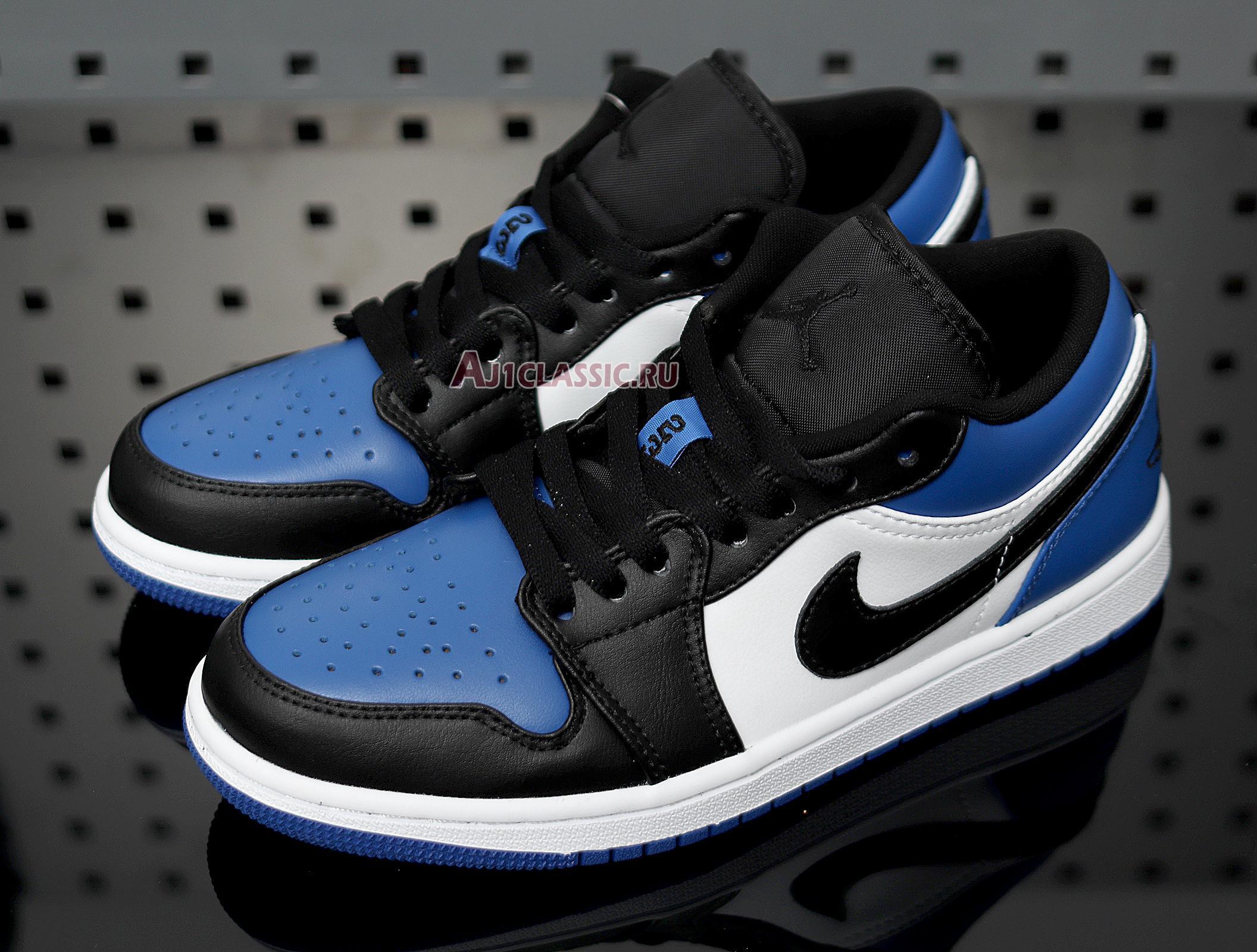 "Air Jordan 1 Low ""Royal Toe"" CQ9446-400"