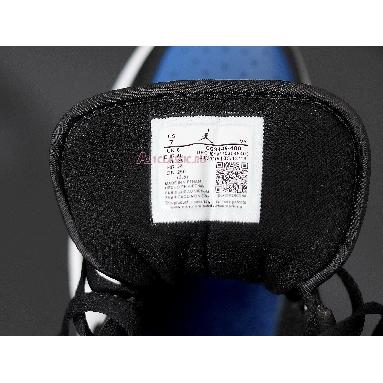 Air Jordan 1 Low Royal Toe CQ9446-400 Sport Royal/White-Black Sneakers