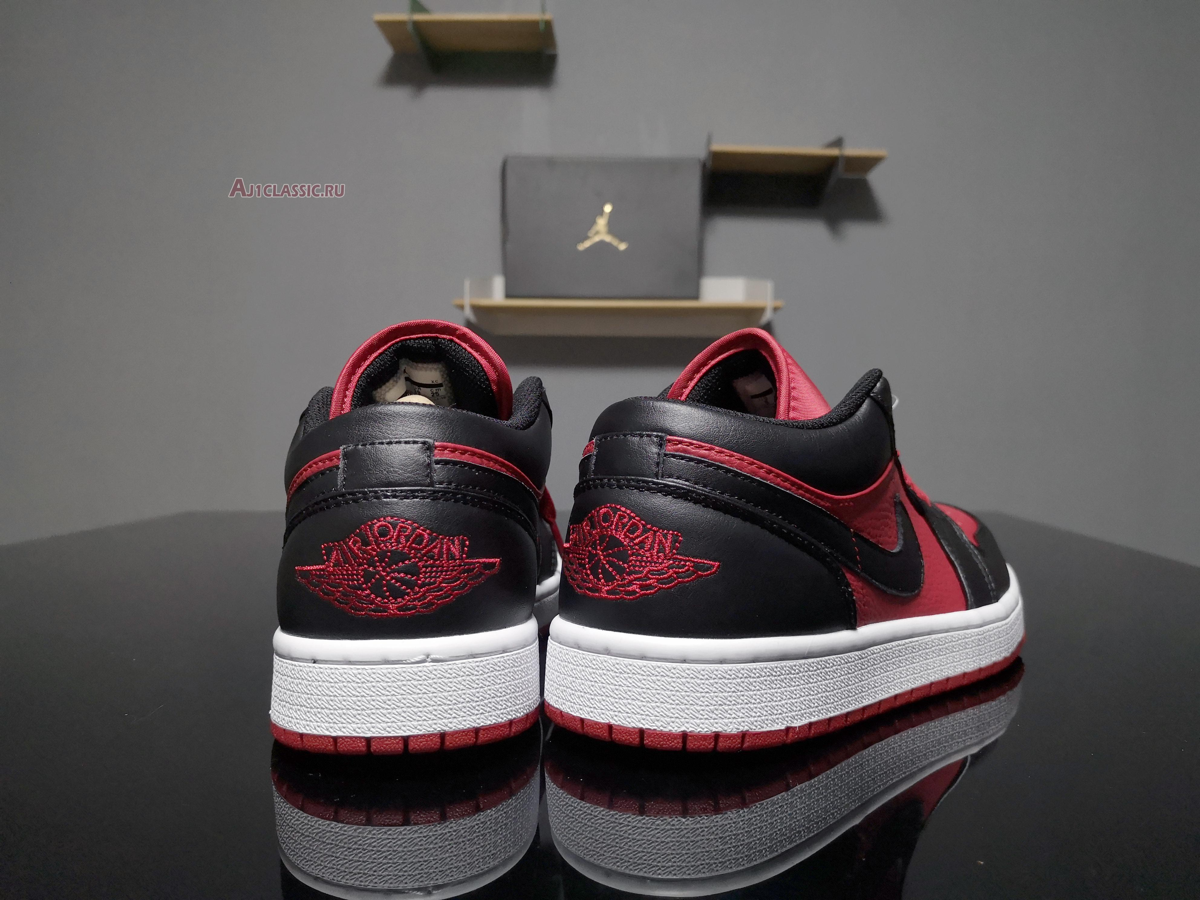 """Air Jordan 1 Retro Low """"Gym Red"""" 553558-610"""