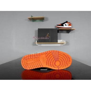 Air Jordan 1 Low Shattered Backboard 553558-128 Starfish/Black-Sail Sneakers