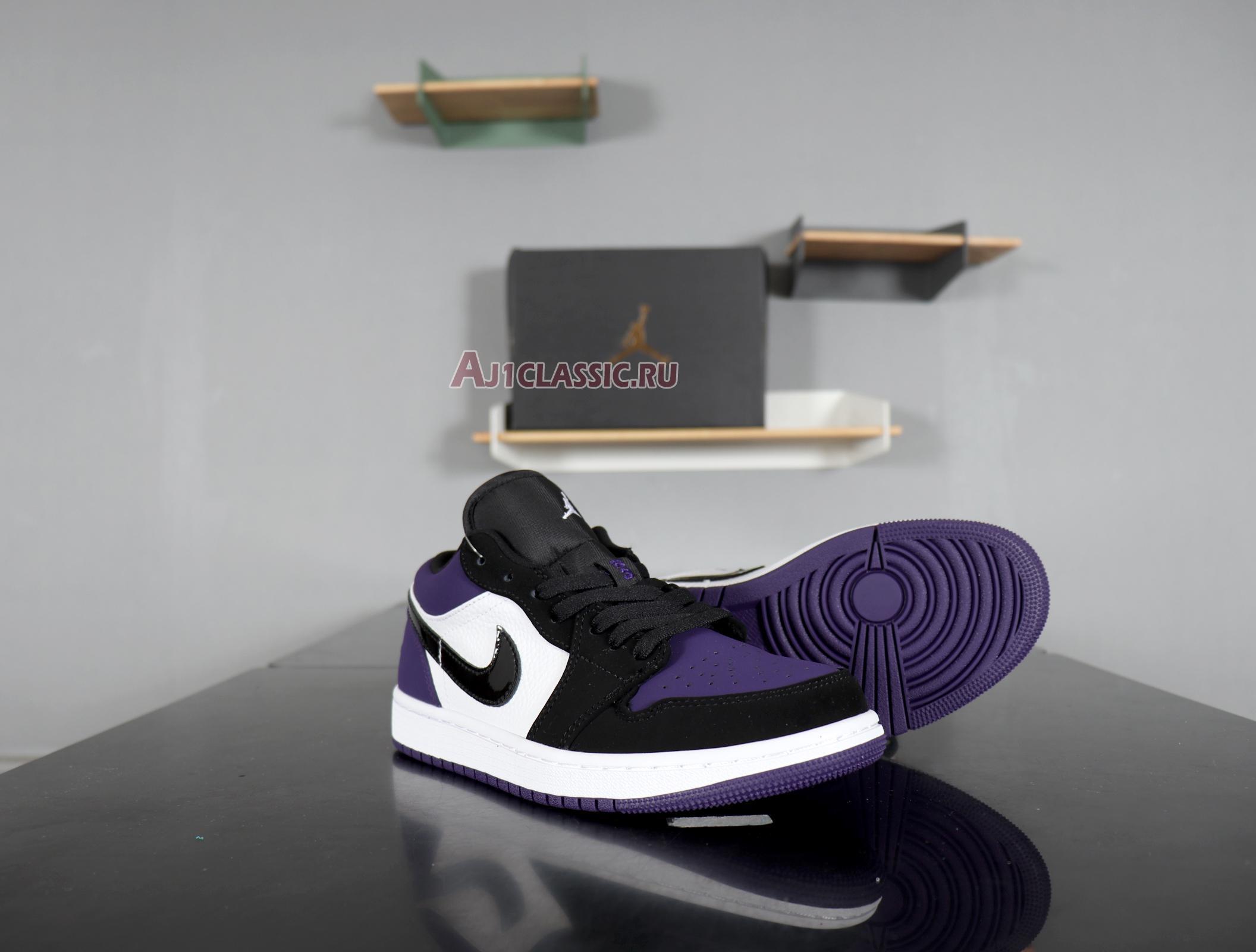 """Air Jordan 1 Low """"Court Purple"""" 553558-125"""