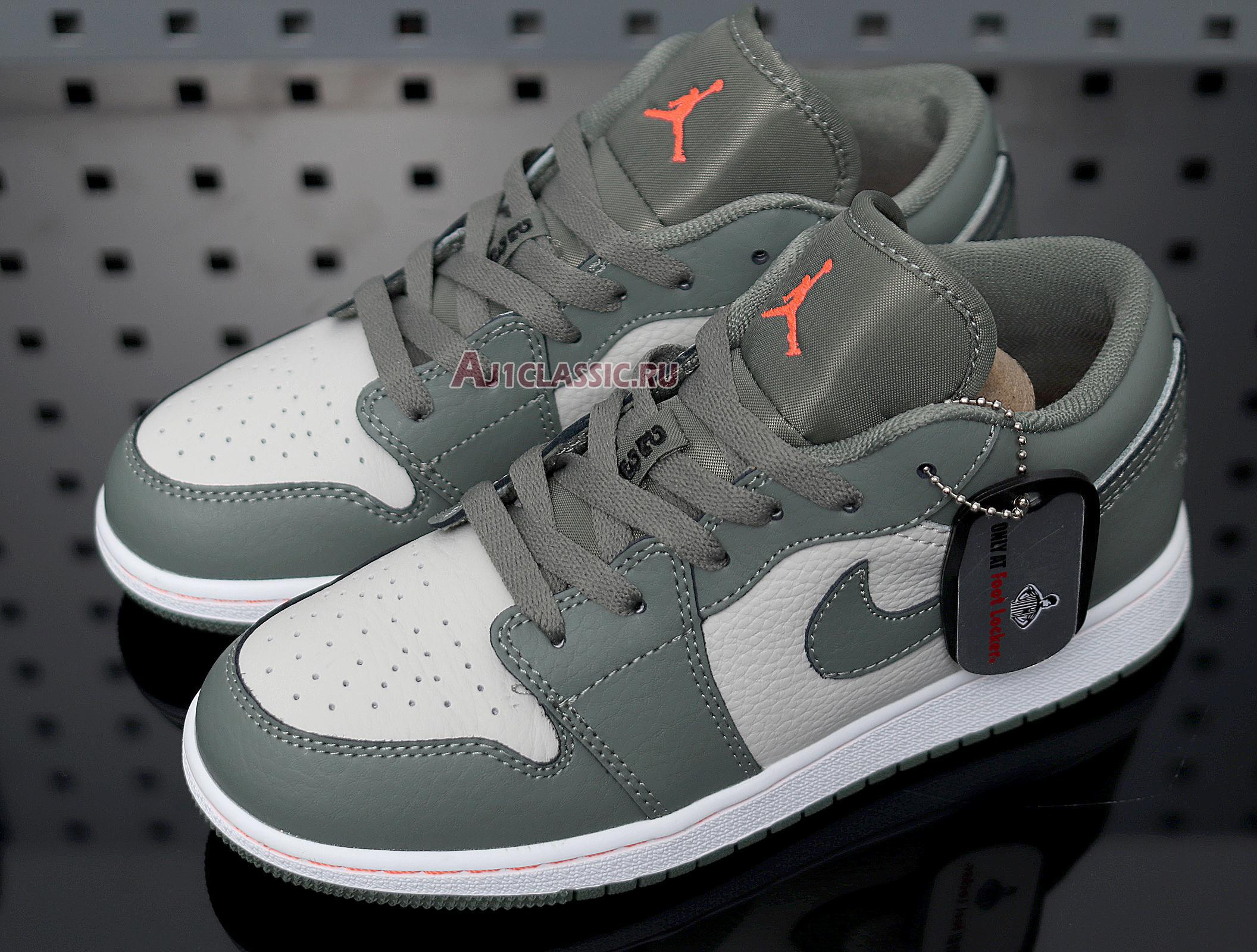 """Air Jordan 1 Low """"Military Themed"""" 553558-121"""