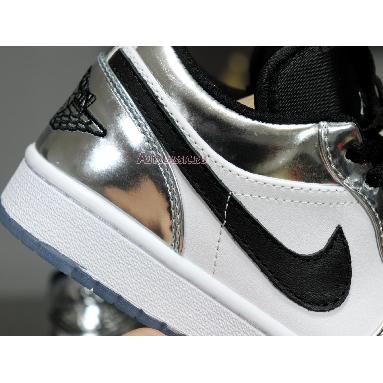 Air Jordan 1 Low Pass The Torch 553558-016 Chrome/White-Turbo Green-Black Sneakers