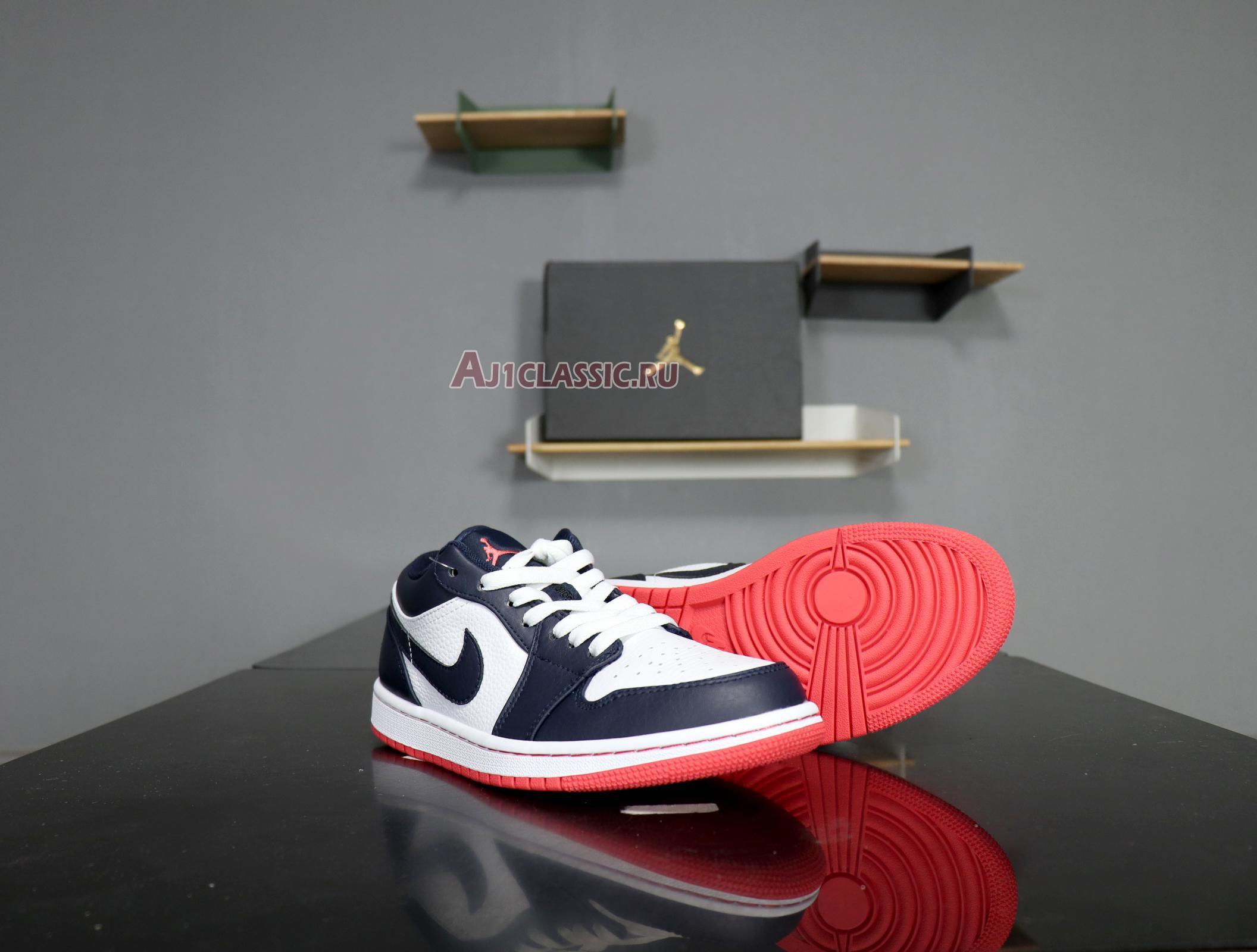 """Air Jordan 1 Retro Low """"Obsidian Ember"""" 553558-481"""