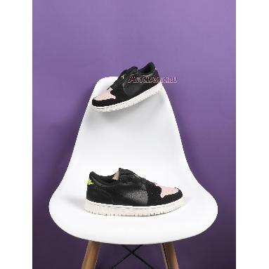 Air Jordan 1 Low Slip Silt Red AV3918-002 Black/Volt-Phantom-Silt Red Sneakers