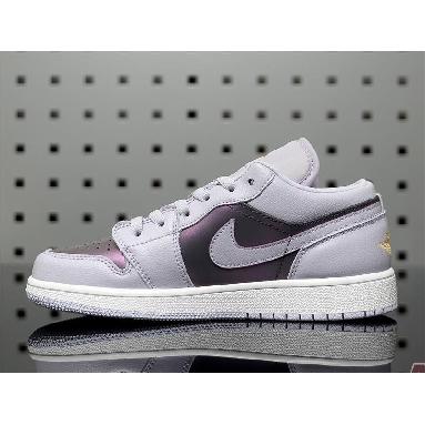 Air Jordan 1 Low GS Oxygen Purple 554723-505 Oxygen Purple/Oxygen Purple Sneakers