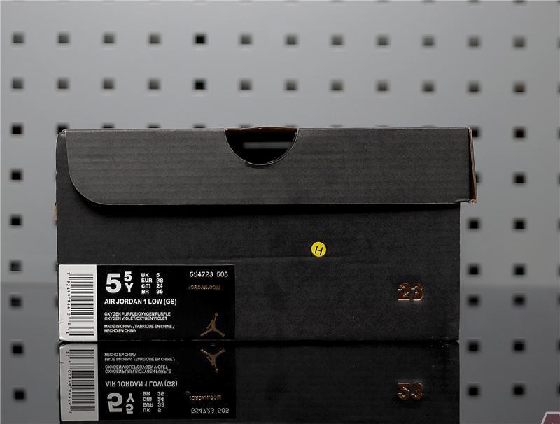 """Air Jordan 1 Low GS """"Oxygen Purple"""" 554723-505"""
