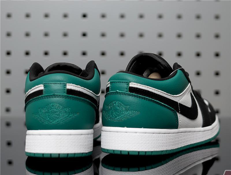 "Air Jordan 1 Retro Low ""Emerald Rise"" 553560-113"