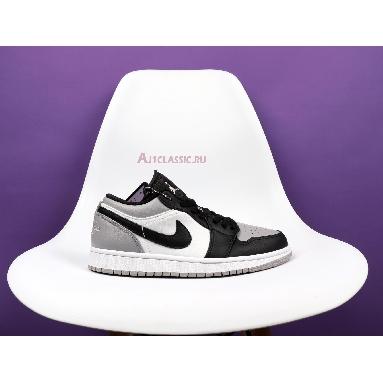 Air Jordan 1 Retro Low Atmosphere 553558-110 White/Atmosphere-Black Sneakers