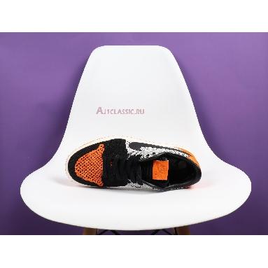 Air Jordan 1 Low Flyknit Shattered Backboard AH4506-100 Sail/Black-Copper Flash Sneakers