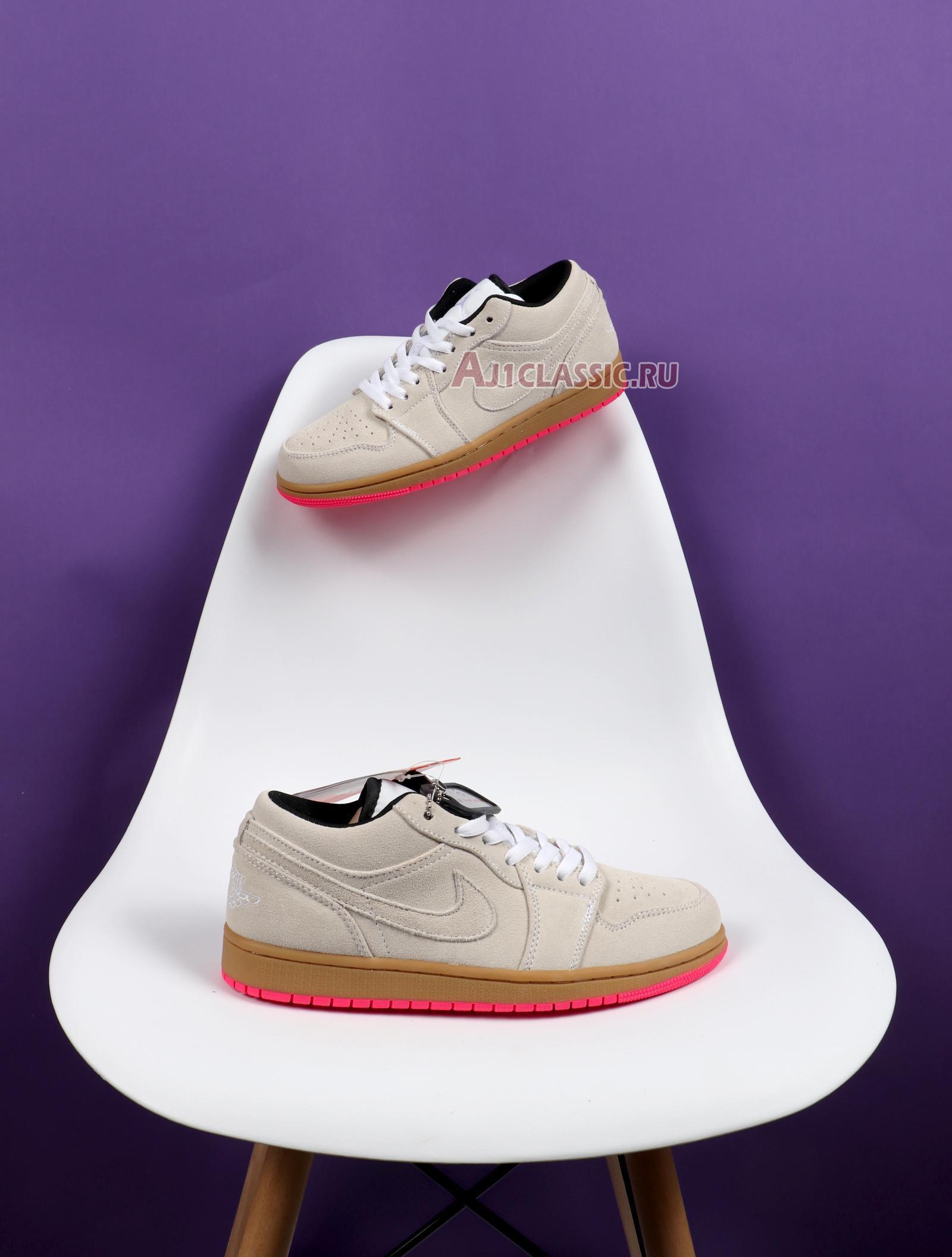 "Air Jordan 1 Low ""White Gym Yellow"" 553558-119"