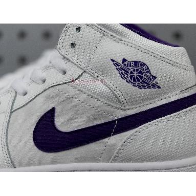 Air Jordan 1 Retro High White Court Purple 332148-137 White/Crt Purple-Lt Rtr-White Sneakers