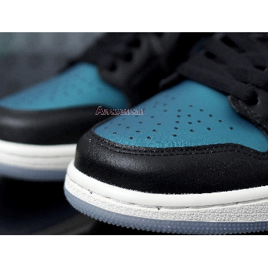 Air Jordan 1 Mid Metallic Turquoise BQ6472-009 Metallic Turqouise/White Sneakers