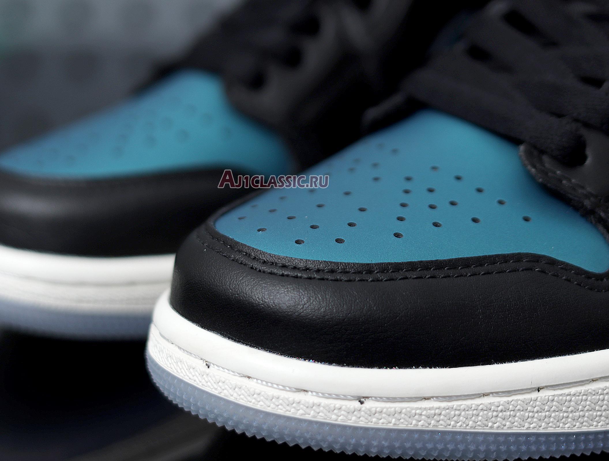 """Air Jordan 1 Mid """"Metallic Turquoise"""" BQ6472-009"""