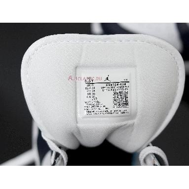 Air Jordan 1 Mid Obsidian 554724-174 White/Obsidian-Metallic Gold Sneakers