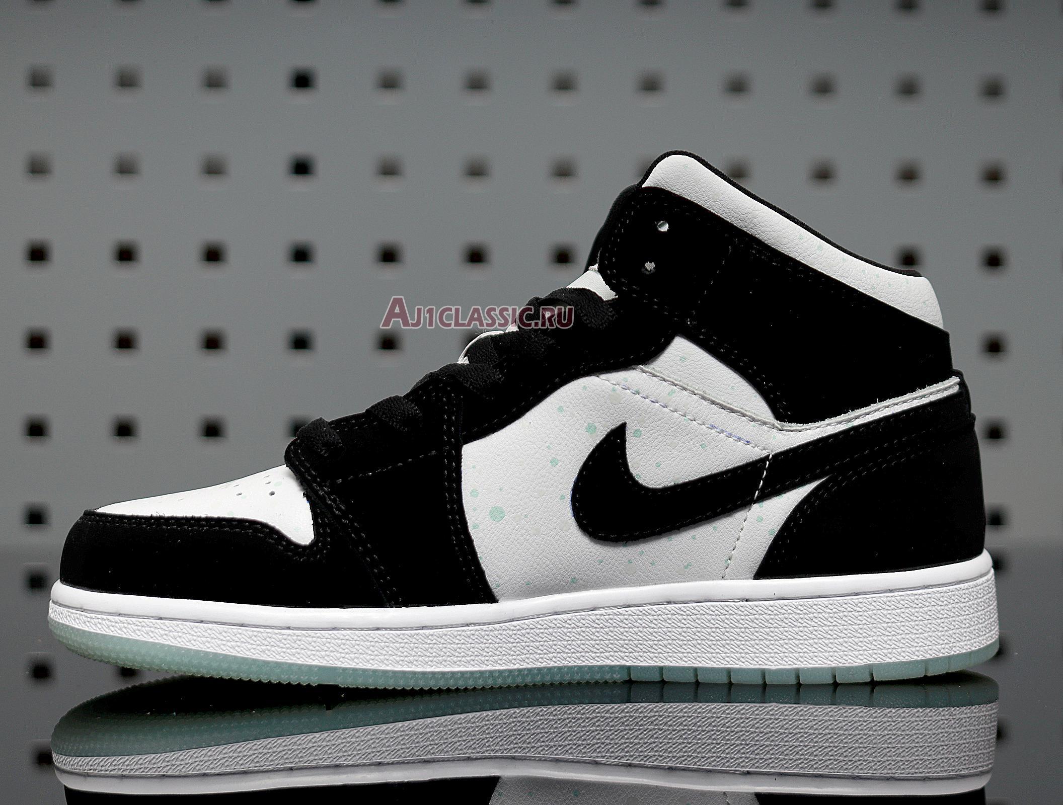 """Air Jordan 1 Mid SE """"Glow in the Dark Panda"""" BQ6931-103"""