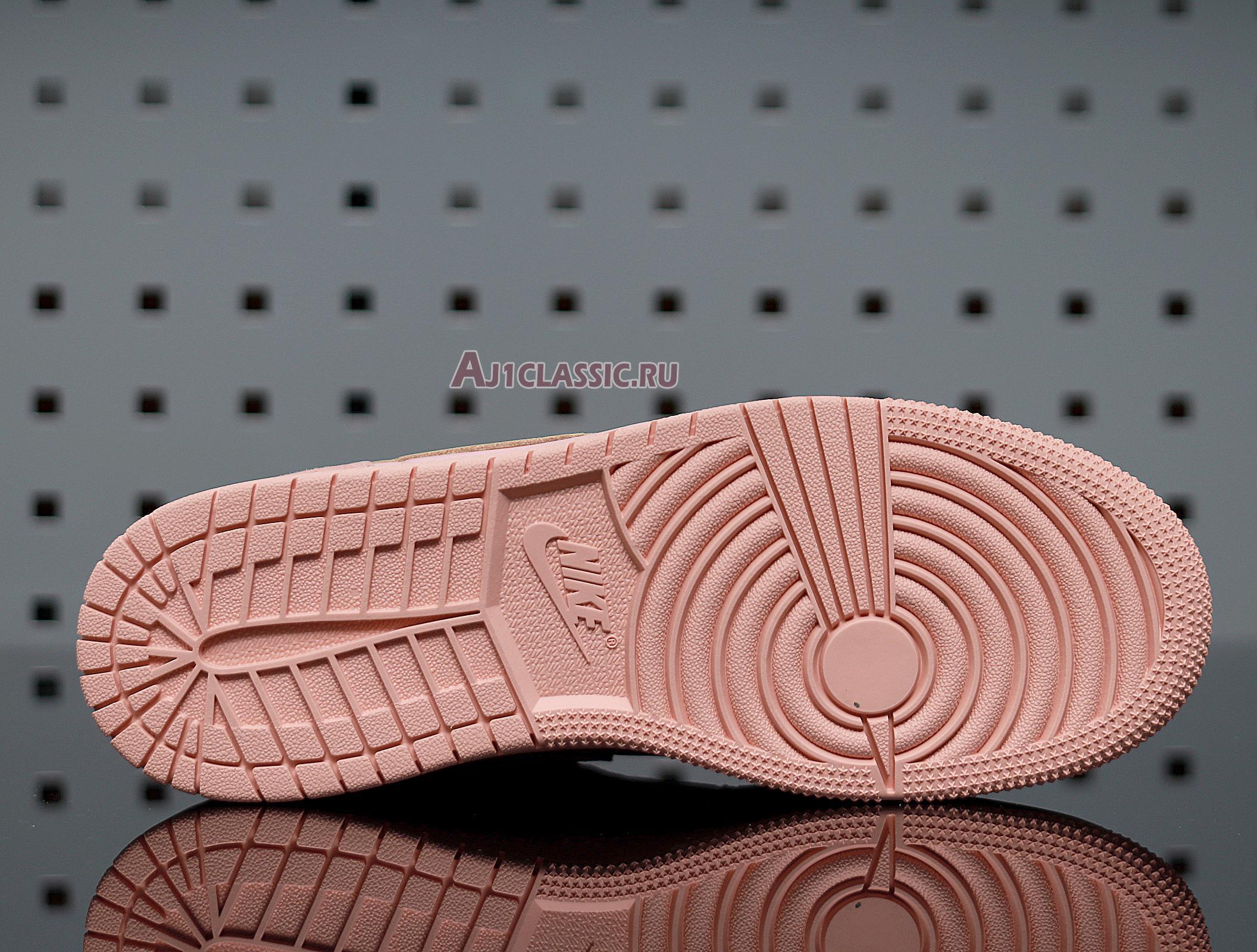"""Air Jordan 1 Mid """"Coral Gold"""" 852542-600"""