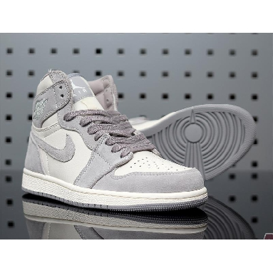 Air Jordan 1 High Premium Atmosphere Grey AH7389-101 Pale Ivory/Atmosphere Grey-Pale Ivory Sneakers