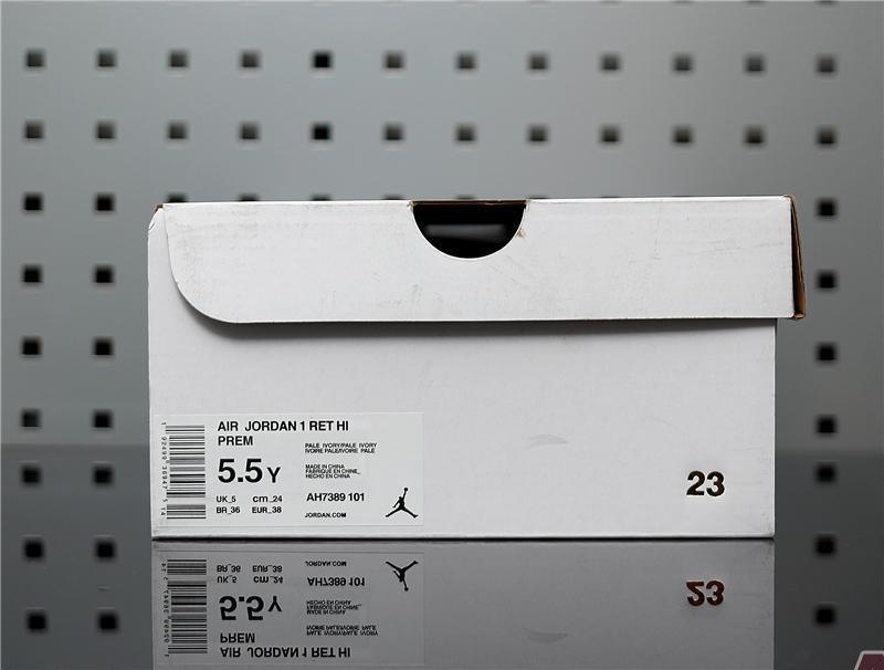 """Air Jordan 1 High Premium """"Atmosphere Grey"""" AH7389-101"""