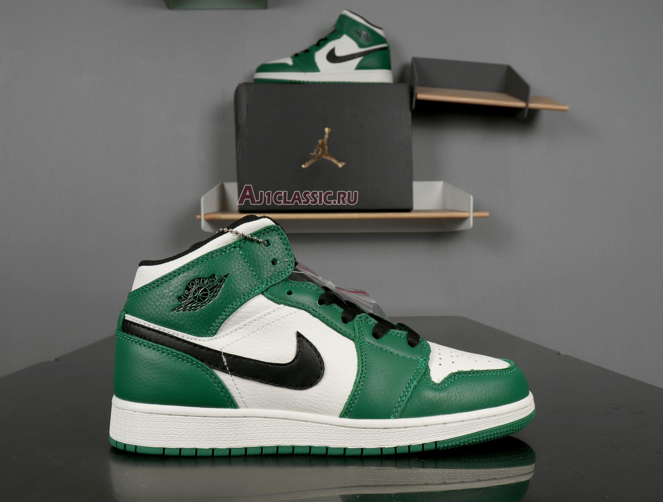 "Air Jordan 1 Mid ""Pine Green"" 852542-301"
