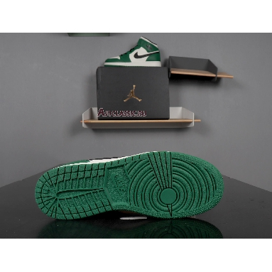 Air Jordan 1 Mid Pine Green 852542-301 Pine Green/Sail-Black Sneakers