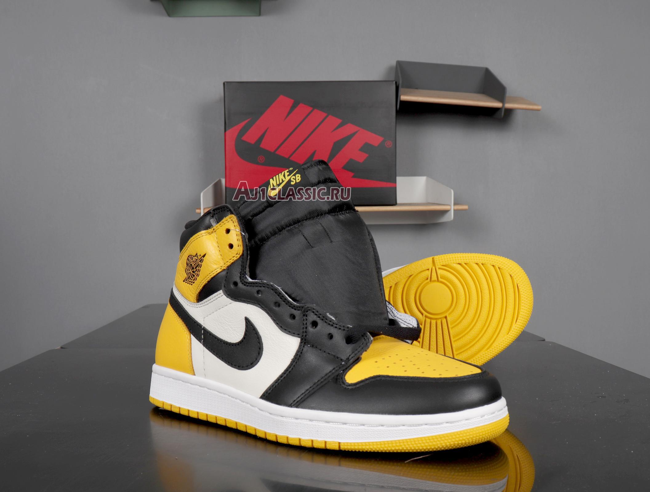"Air Jordan 1 Retro High OG ""Yellow Toe"" AR1020-700"