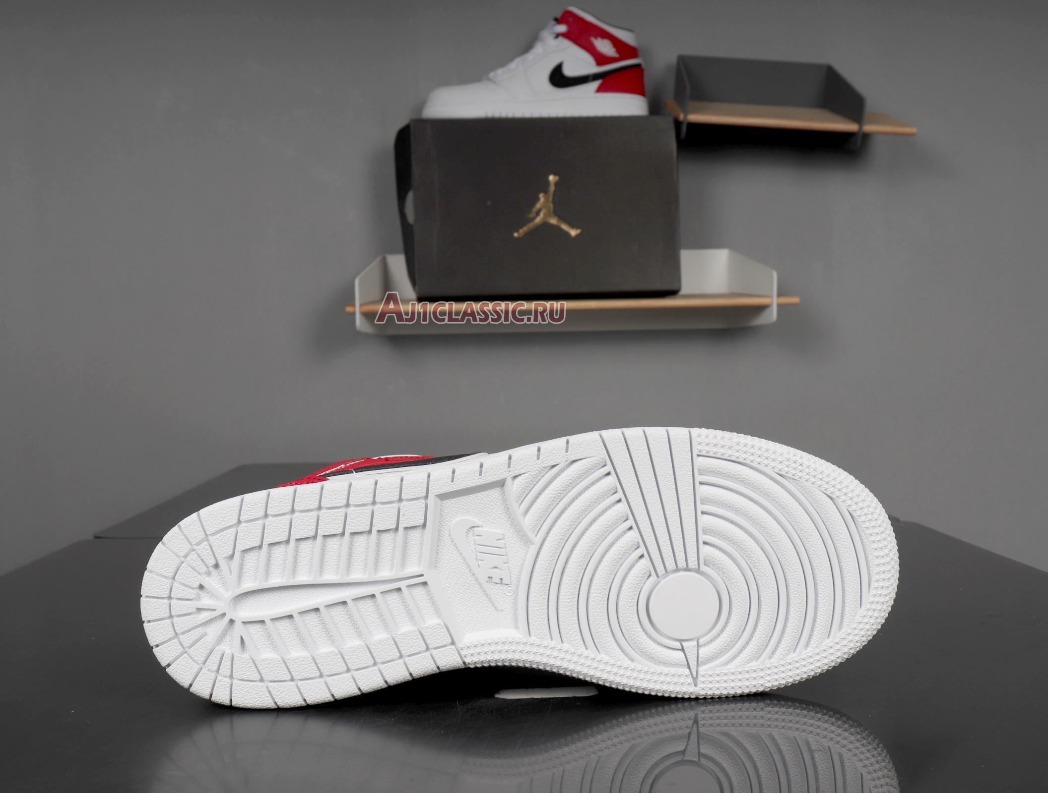 "Air Jordan 1 Mid ""White Chicago"" 554724-116"