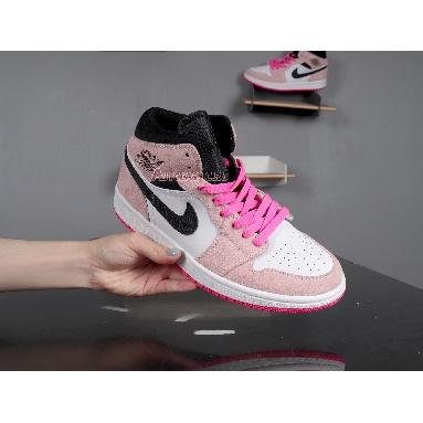 Air Jordan 1 Mid SE Crimson Tint 852542-801 Crimson Tint/Black-Sail-Hyper Pink Sneakers