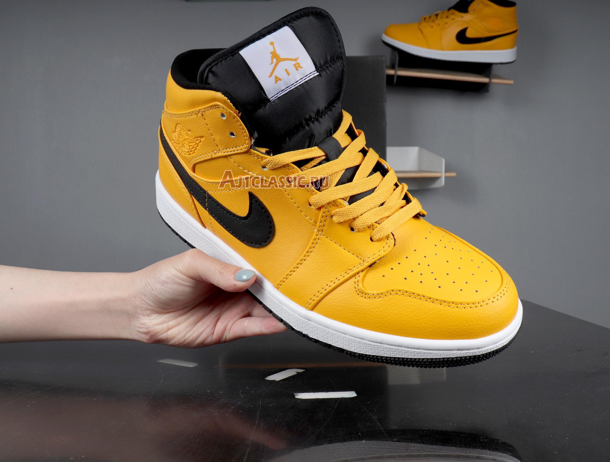 "Air Jordan 1 Mid ""Taxi Yellow"" 554724-700"