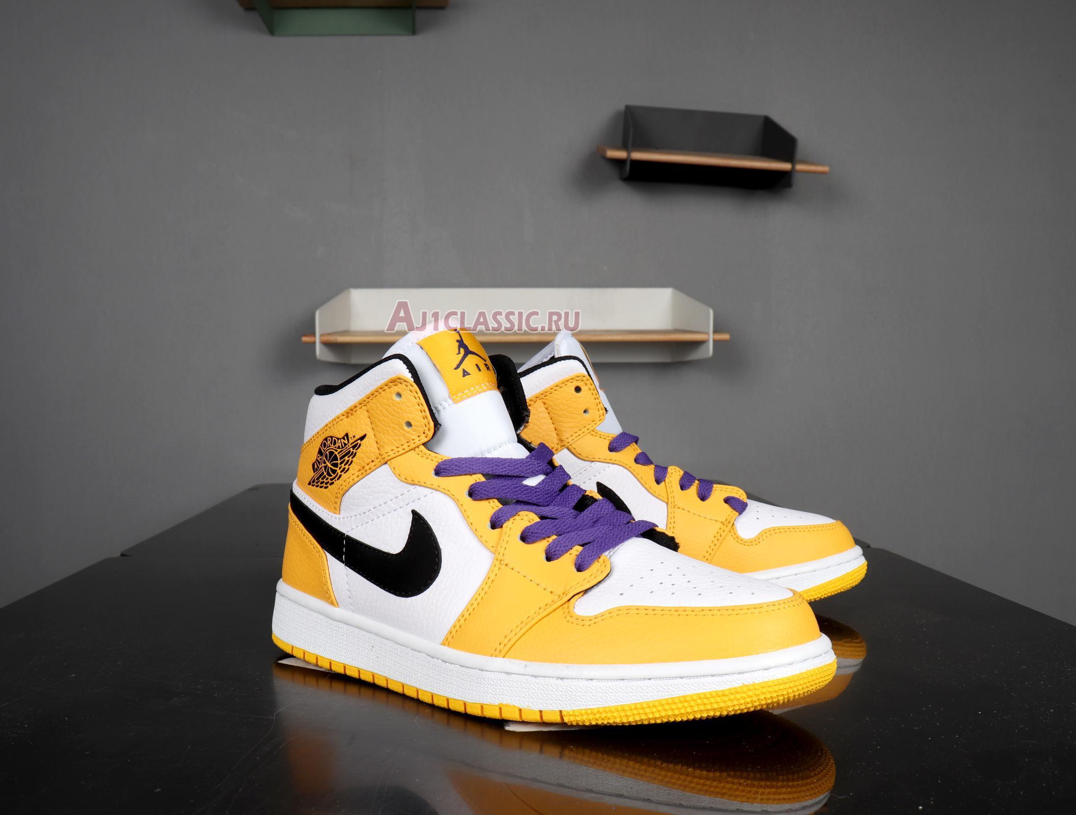 "Air Jordan 1 Mid ""Lakers"" 852542-700"
