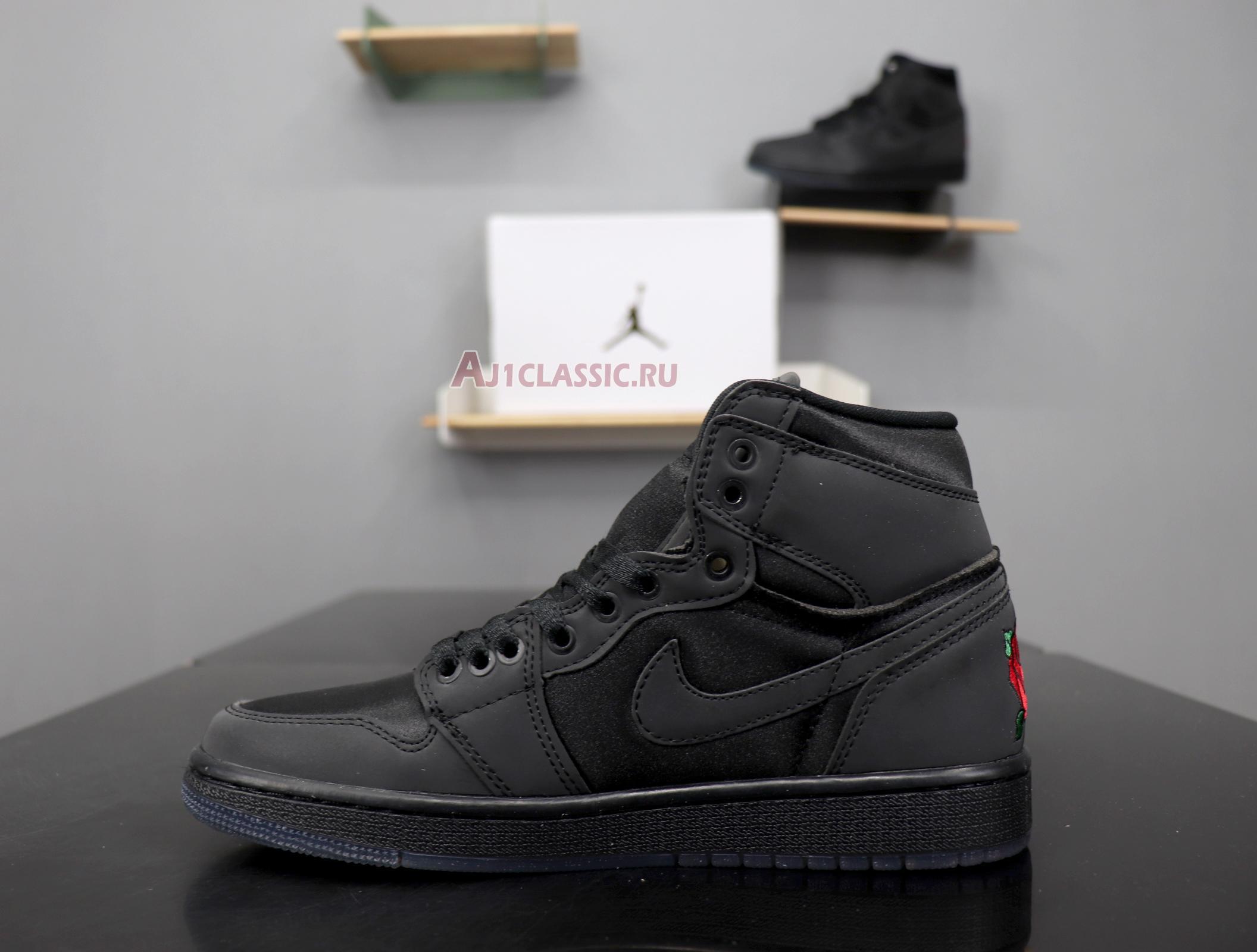 "Rox Brown x Air Jordan 1 Retro High OG ""Black"" BV1576-001"