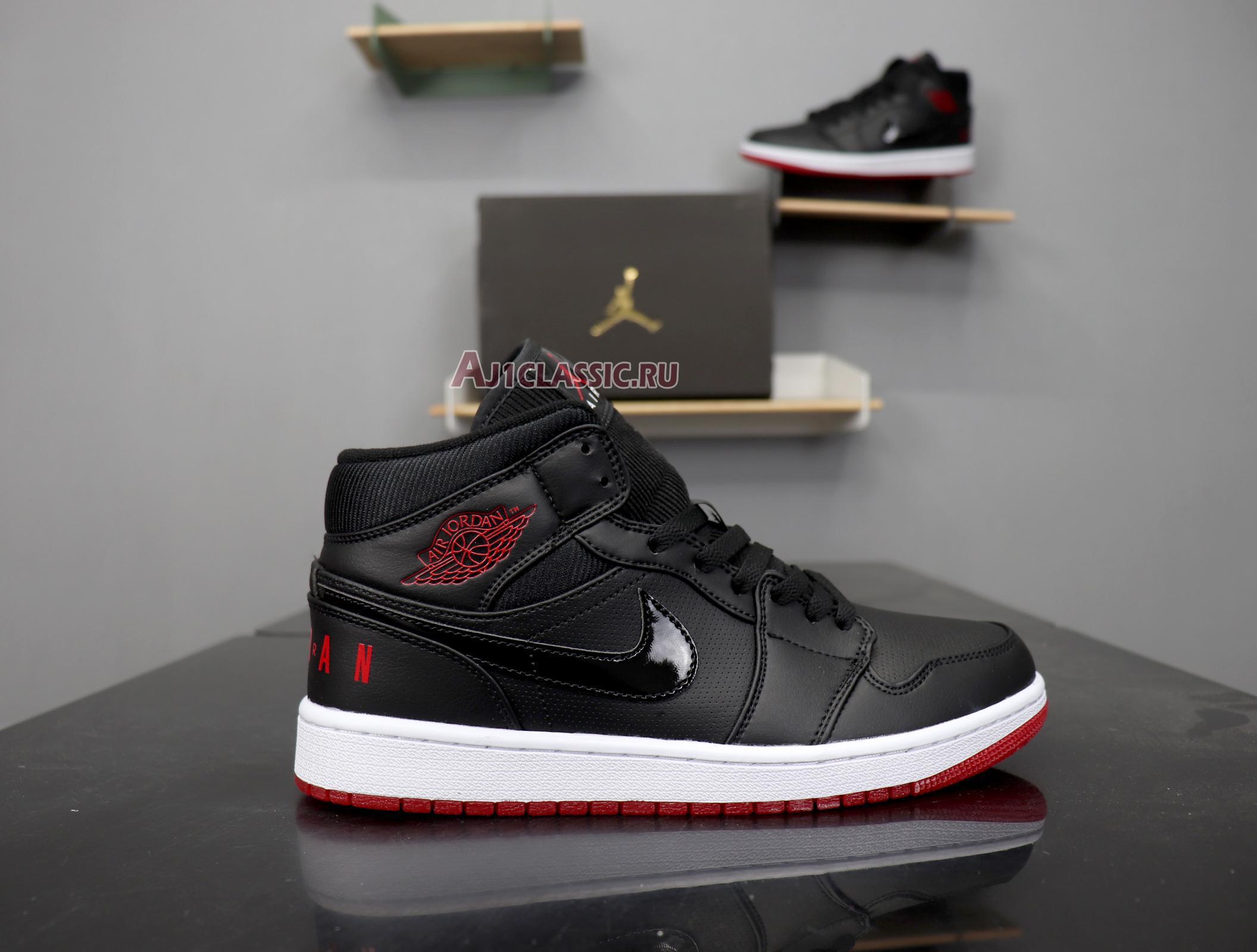 "Air Jordan 1 Retro Mid ""Bred"" BQ6578-001"