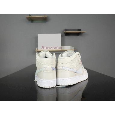 Air Jordan 1 Mid GG Phantom 555112-035 Phantom/Igloo/Purple Rise Sneakers