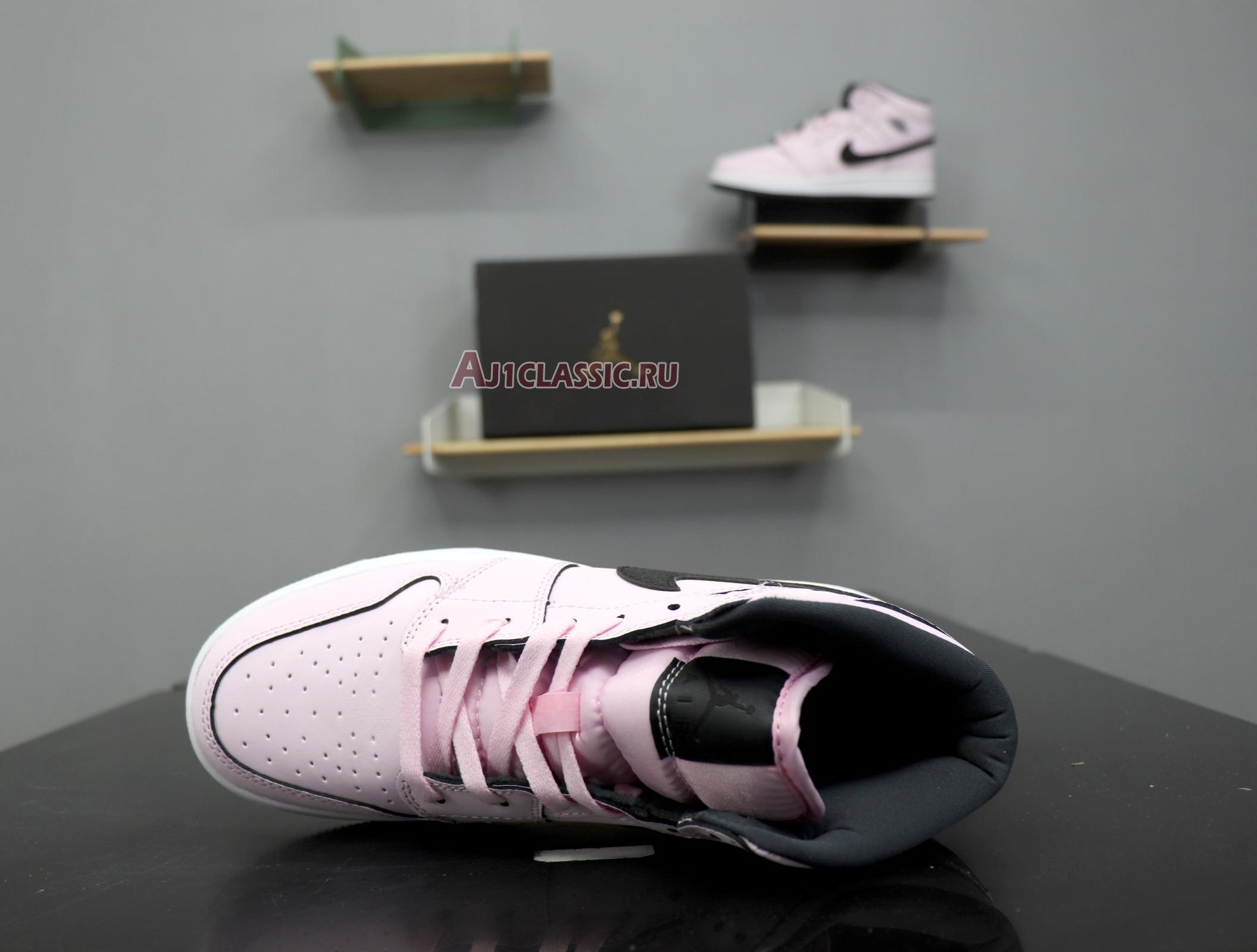 "Air Jordan 1 Mid GS ""Pink Foam"" 555112-601"