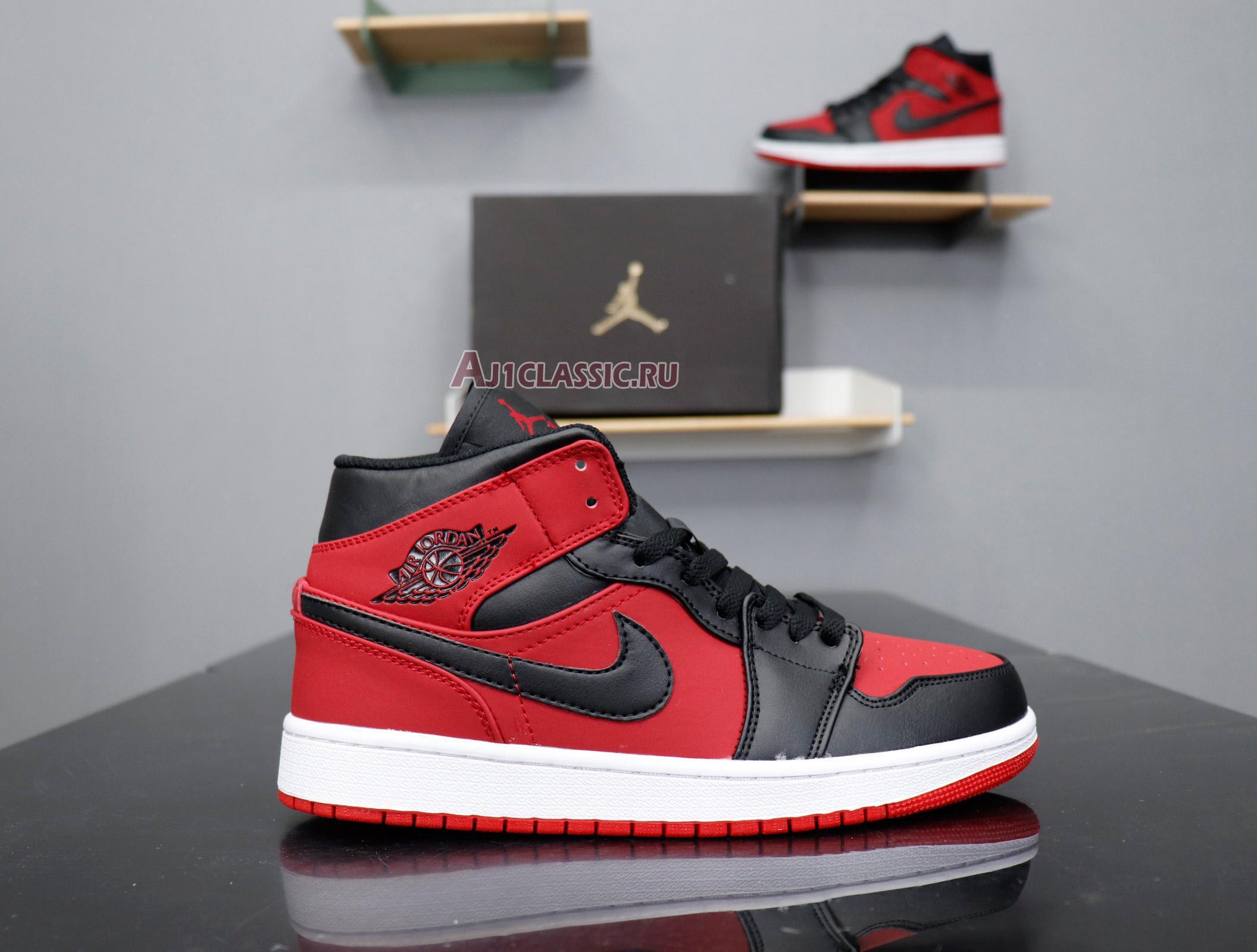 "Air Jordan 1 Mid ""Banned"" 554724-610"