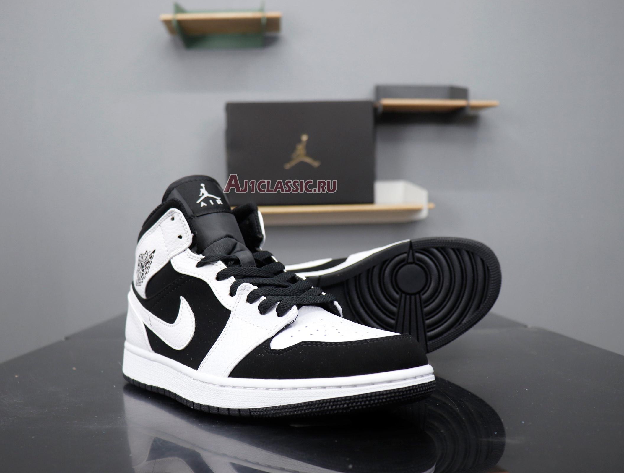 "Air Jordan 1 Retro Mid ""Tuxedo"" 554724-113"