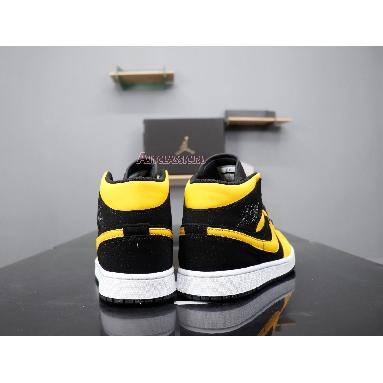 Air Jordan 1 Retro Mid Reserve New Love 554724-071 Black/University Gold-White Sneakers