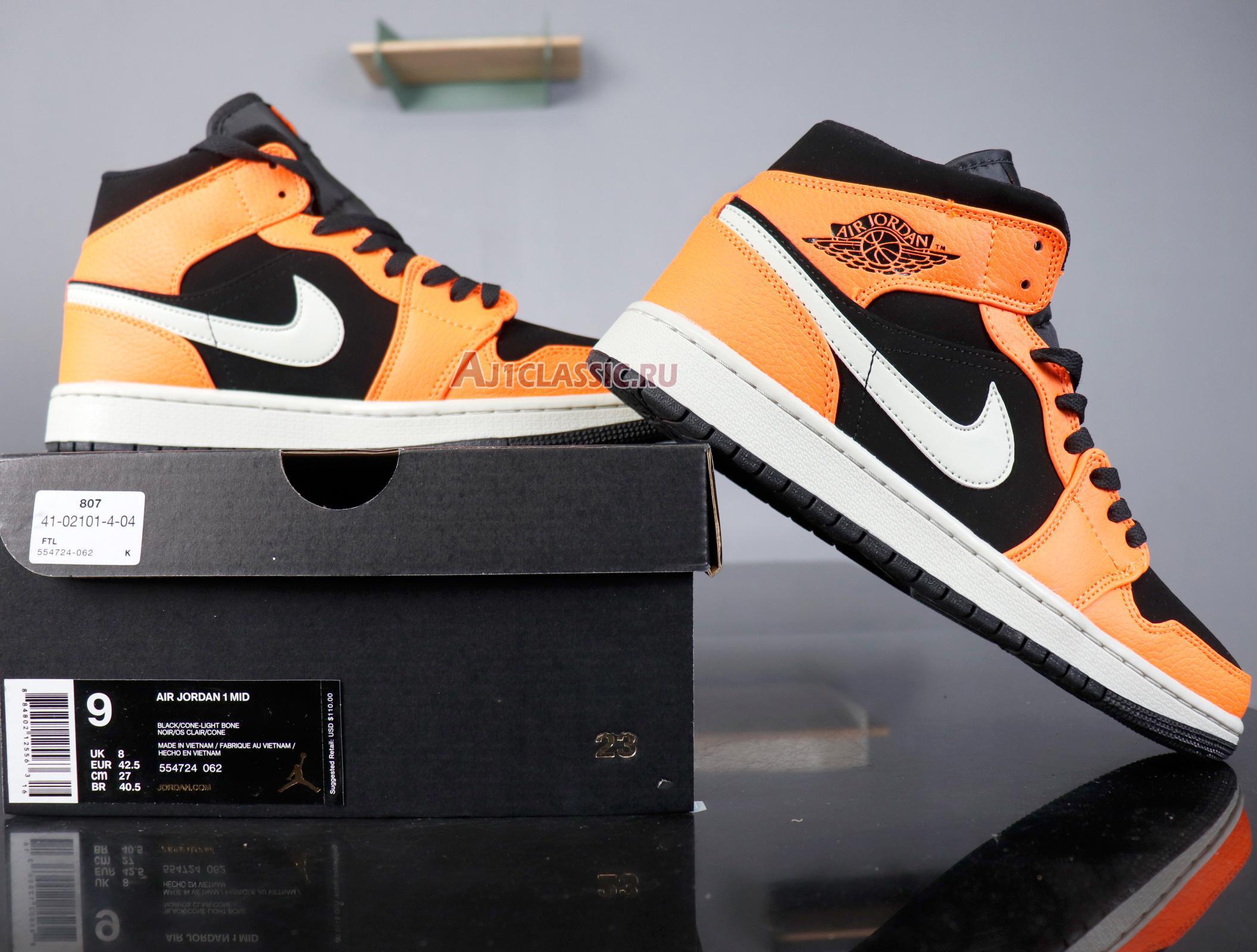 "Air Jordan 1 Mid ""Black Cone"" 554724-062"