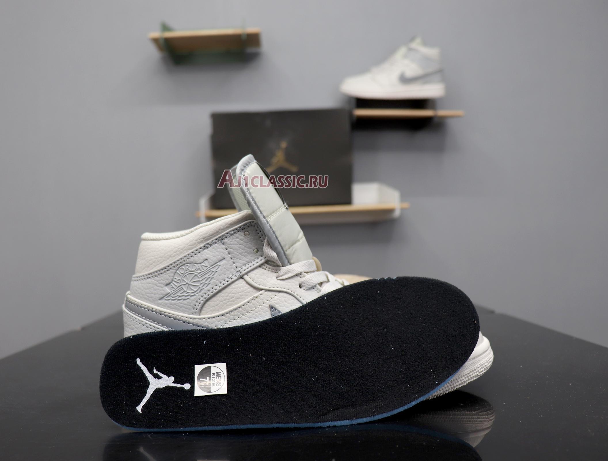 "Air Jordan 1 Mid Retro SE ""Grey Fog"" 852542-003"