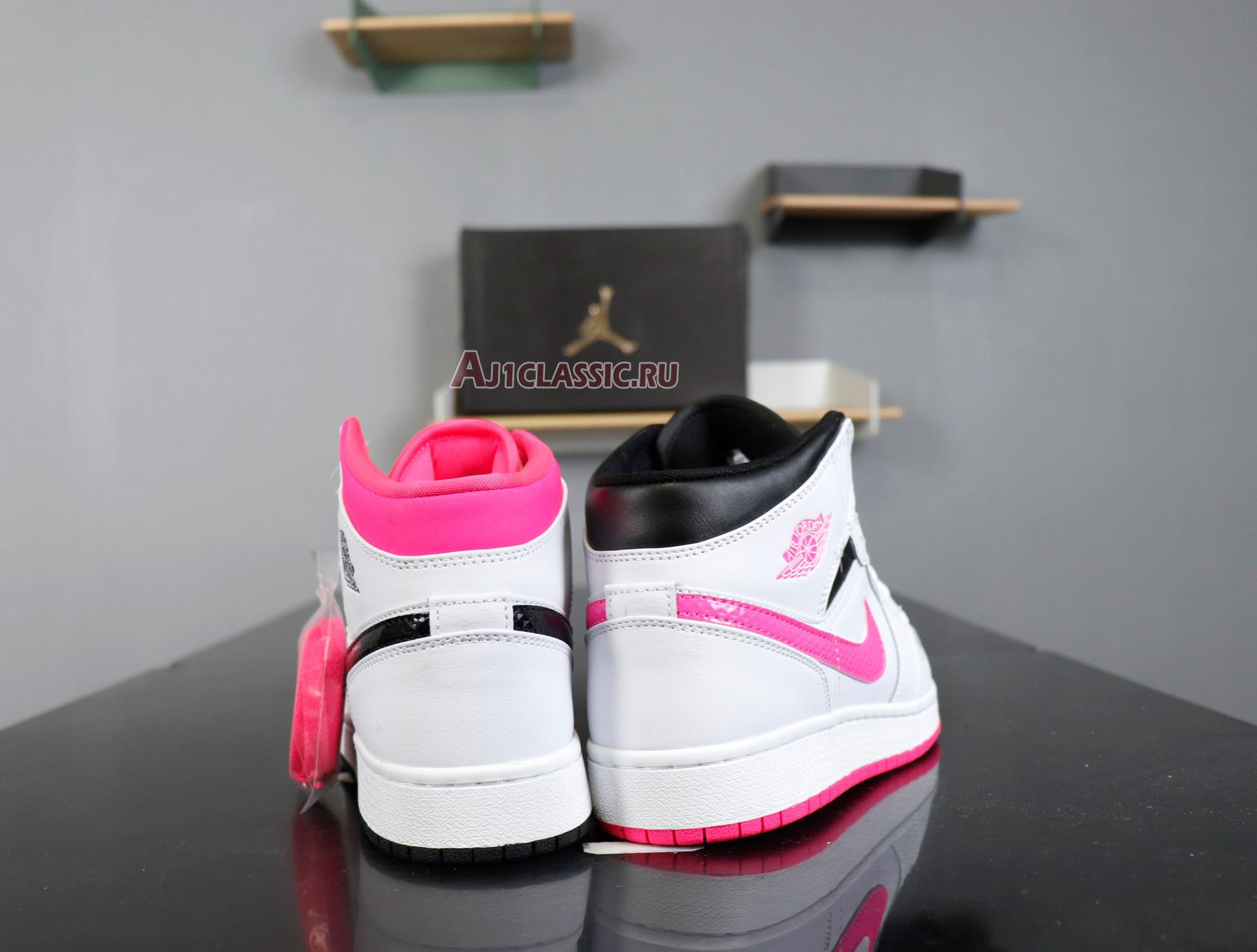 "Air Jordan 1 Retro Mid GS ""Hyper Pink"" 555112-106"