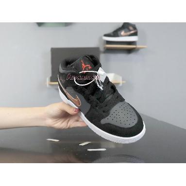 Air Jordan 1 Retro High Bronze Medal 332550-016 Black/Metallic Red Bronze-Dark Grey-White-Infrared 23 Sneakers