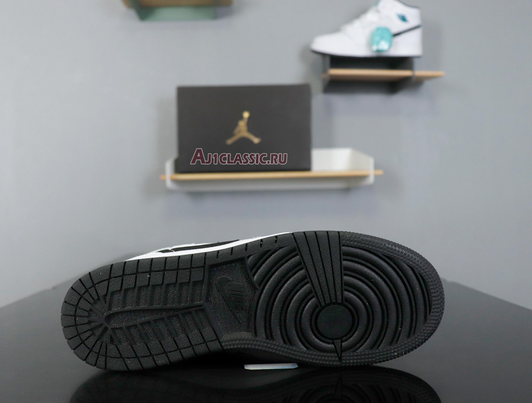 """Air Jordan 1 Mid BG """"Hyper Jade"""" 554725-122"""