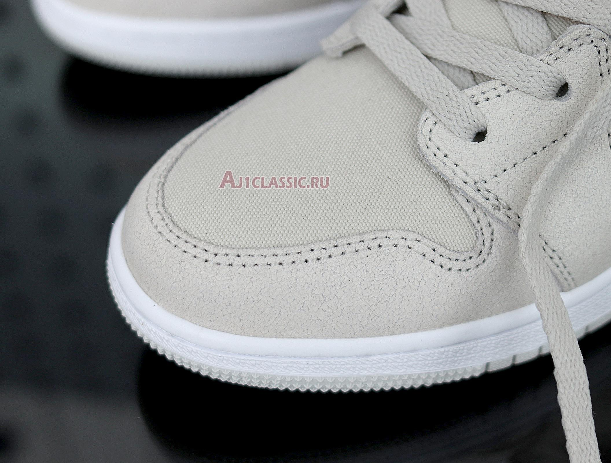 """Air Jordan 1 Retro Mid """"Light Bone"""" 554725-023"""