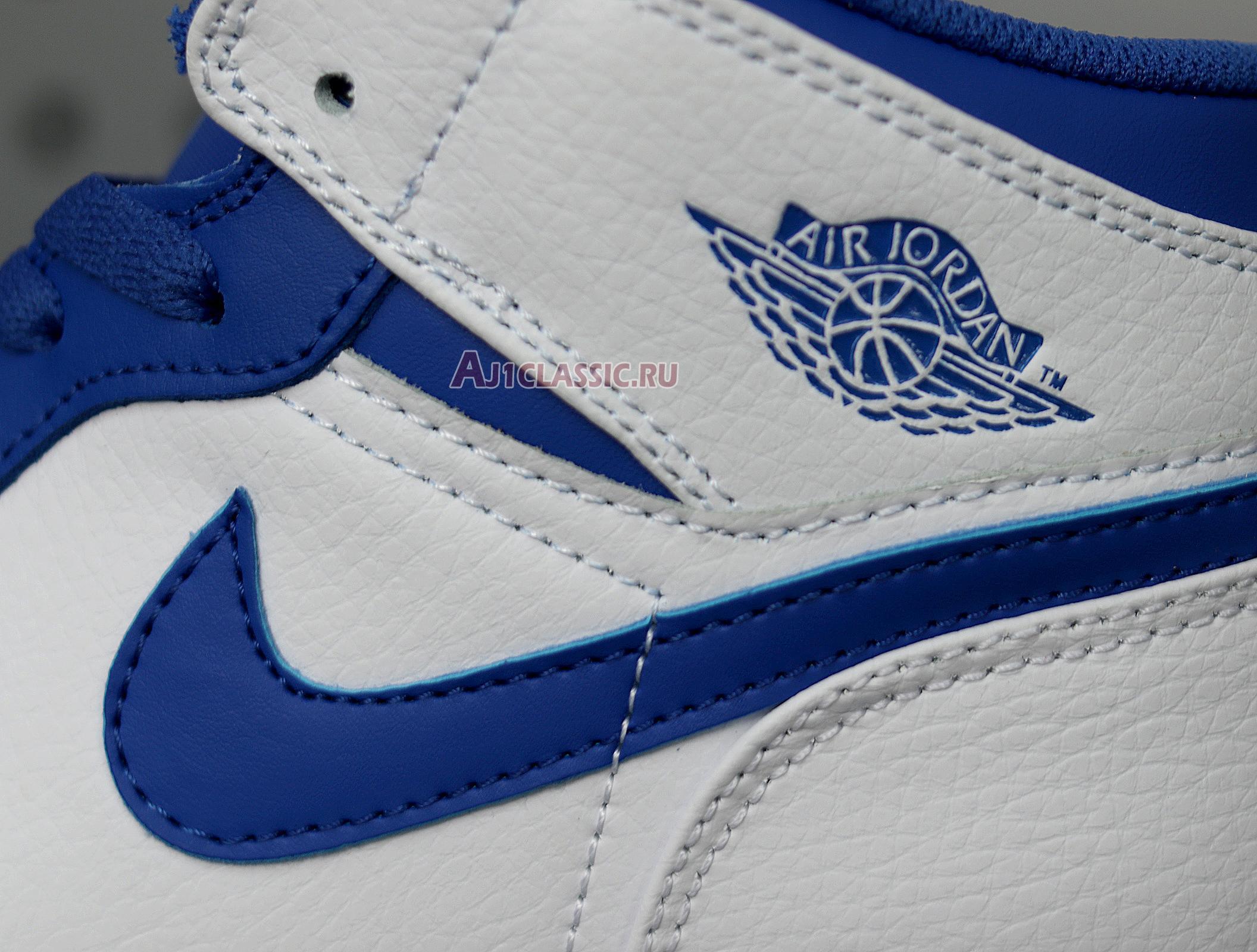 """Air Jordan 1 Mid """"Hyper Royal"""" 554724-114"""